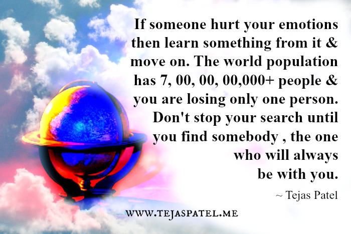 If someone hurt your emotions